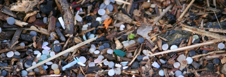 Nurdles found on Irvine Beach
